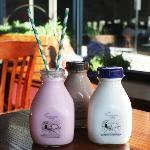 Glass Bottled Milk