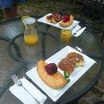 David's delicious breakfast