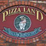 Pizza Land Sign