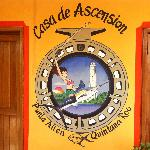 Front of Casa de Ascension