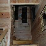 stairs leading to the loft