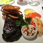 Rib Eye and Lobster, OMG fantastic