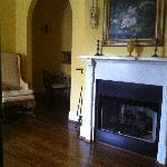 Yes -- that's a fire place in my room!