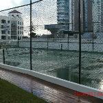 Half Tennis Court