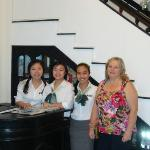 Wonderful staff at the Jade Hotel