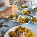 Chef Athula's Sri Lanakn food - absolutely amazing