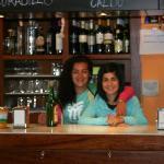 Marina y su compañera