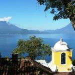 Vista del lago da Casa Palopo