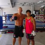 With my Trainer Beau