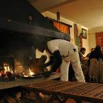 La cheminée pour les grillades