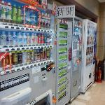 Vending machines at the ground floor (lobby)