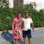 Tennis with Rani!!