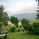 Vista desde el jardín del hotel