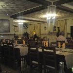 Restaurant interior:  not exactly buzzing.