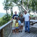 Joe, Sandy, the grandkids, and I.