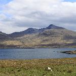 View from far side of sea loch