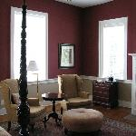 The Carl & Janet Netherland-Brown room (peeked into some open rooms to snap pix)