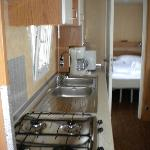 Interno della Maxi caravan Gold Holiday