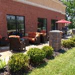 Relax. Relate. Release. Enjoy our Patio with Bar-B-Que Grill.