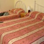Double and single bed, charged only for a double