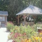 Lovely garden and gazebo by rooms