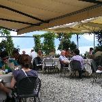 Dining on Isla Pescatore