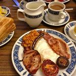 English breakfast July 2012