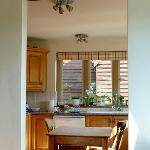 Just a glimpse of the pretty kitchen