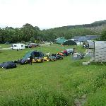 Campsite and Camping Huts