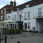 Front view of The White Lion
