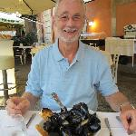 Peppered mussels; delicious.