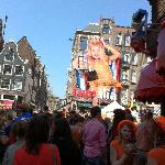 Queens Day in the Jordaan