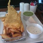 Fish and chips - So, so