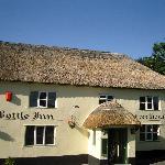 Bottle Inn, Marshwood, home of the world famous nettle eating competition.