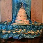 our 4 tier cake, made at the Wrygarth