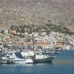Kalymnos village, Kalymnos island, Dodecanese, Greece