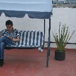 Sillas para descanso en terraza