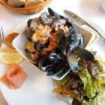 Seafood platter NO langoustines!!