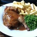 Real 1/2 roast Chicken