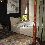 Honeymoon room with two person bath
