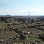 The ancient city excavations