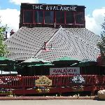 Avalanche Bar & Grill in the Summer