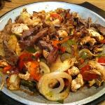 the fajitas for two !!! soooo yummy!!!