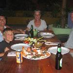 Dinner with Karen & Roy