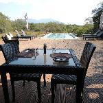 Un cadre très calme pour se reposer entre deux safaris