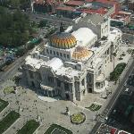 Palacio de Bellas Artes, a poca distancia del Hotel Casa Blanca DF