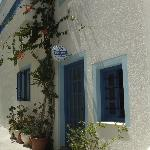 front door of Windmill Naxos