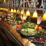 Our 20ft Salad Bar