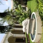 Interior courtyard of La Perla