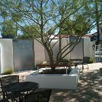 Alcazar courtyard